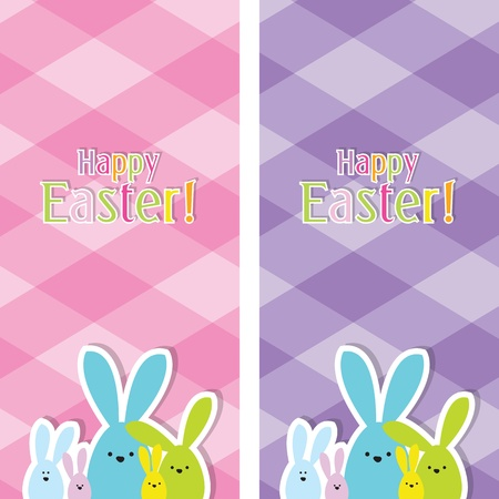 Easter web banners Stock Vector - 12900423