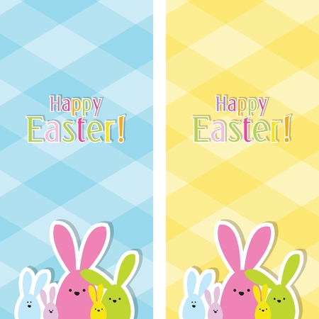 Easter web banners Stock Vector - 12900434