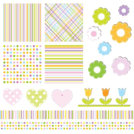 Scrapbook design elements Stock Vector - 12961678