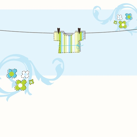 welcome party: Tarjeta de Baby Shower