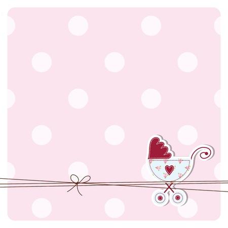 geburt: Babypartyeinladungskarte