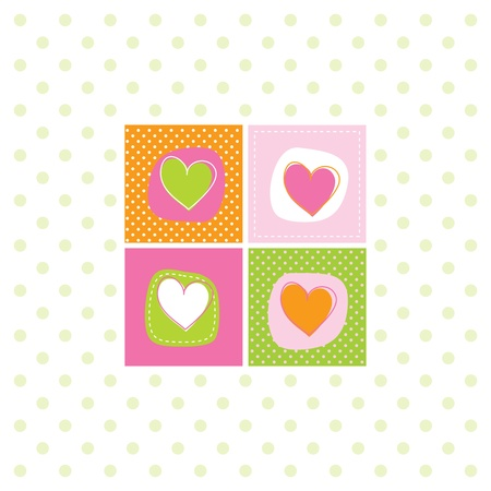 green day baby blue background: Greeting card with copy space