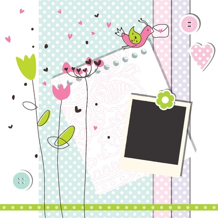 scrap booking: Scrapbook design elements