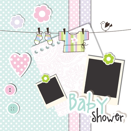 baby picture: Baby shower design elements