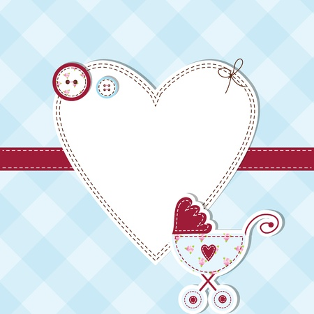 announcements: Baby shower card