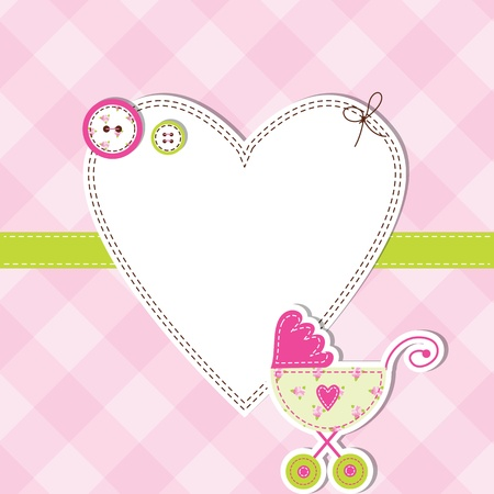 congratulations banner: Baby shower card