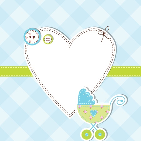 baby shower: Baby shower card