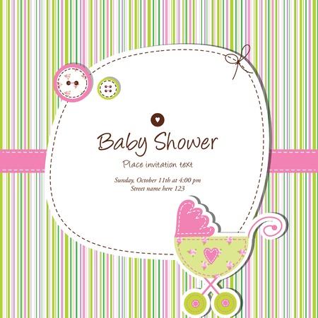 베이비 샤워 카드 스톡 콘텐츠 - 13503333
