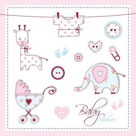 shower b�b�: Baby shower �l�ments de conception