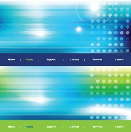 Abstract background - web banners Vector
