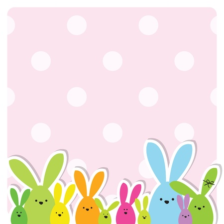 Easter card with copy space Stock Vector - 13503312