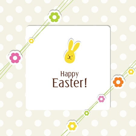 Easter card with copy space Stock Vector - 13503315