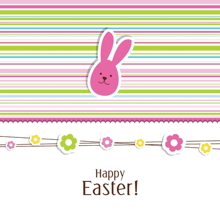 Easter card with copy space Stock Vector - 13503318
