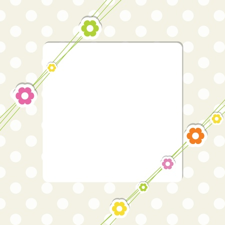birth day: Greeting card with copy space