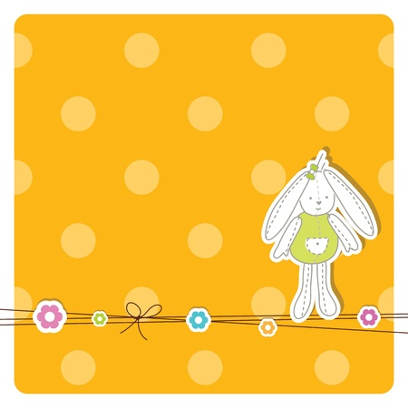 Easter card with copy space Stock Vector - 13503323