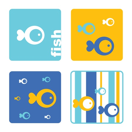 Fish - Design templates Vector