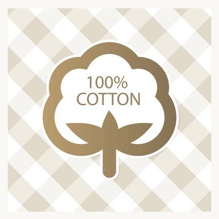 organic cotton: Cotone etichetta