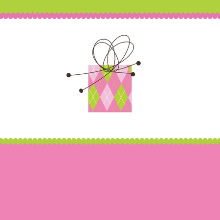 Birthday card with copy space Stock Vector - 15687198