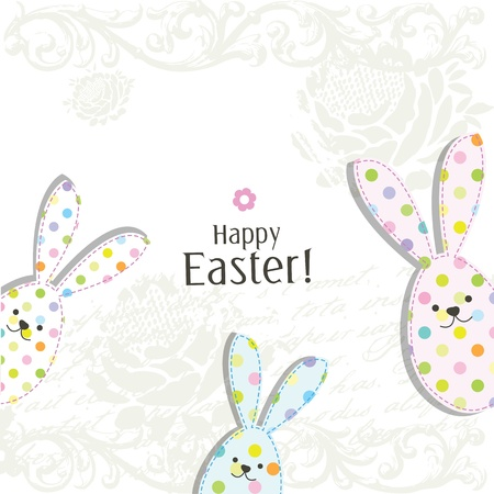 Easter card with copy space Stock Vector - 17568797