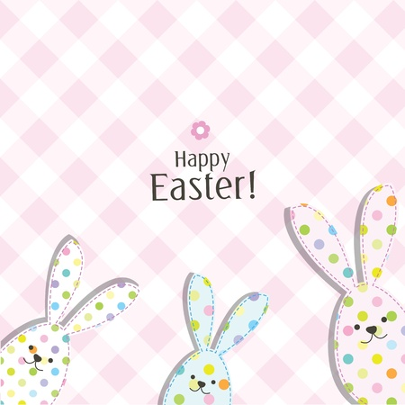 easter holiday: Easter card with copy space