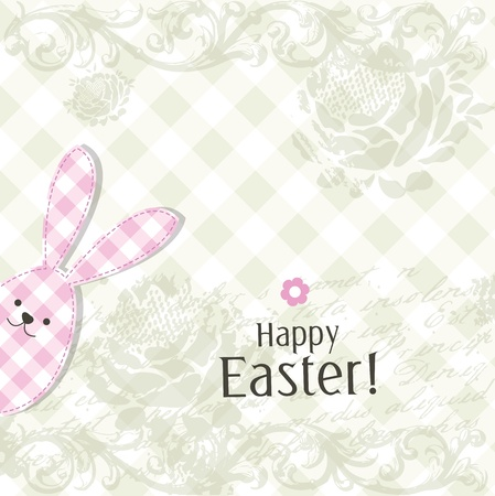 Easter card with copy space Stock Vector - 17568795