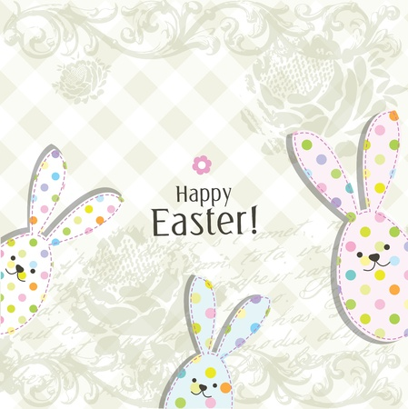 Easter card with copy space Stock Vector - 17568792