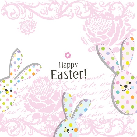 Easter card with copy space Stock Vector - 17568789