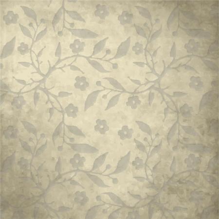 beige stof: Vintage achtergrond met kopie ruimte Stock Illustratie