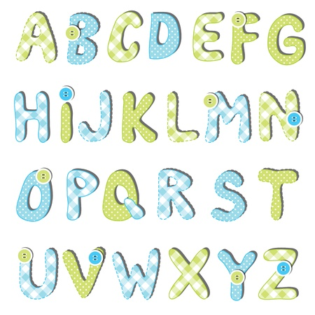 paper spell: Alphabet set