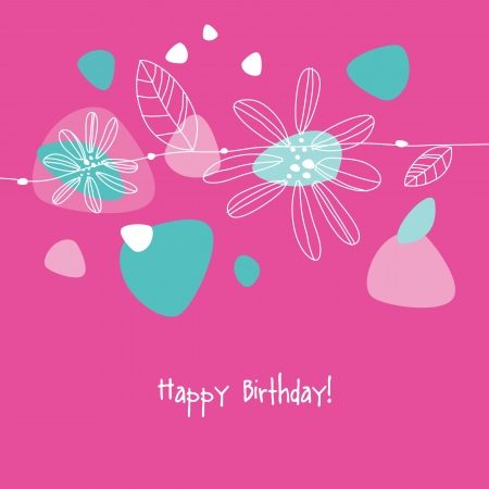 Greeting card with copy space Stock Vector - 20027637