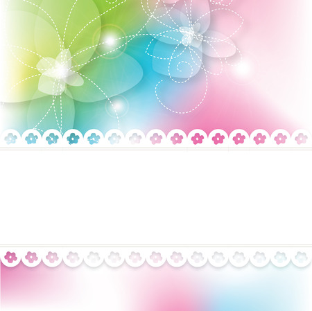 birthday backdrop: Greeting card with copy space
