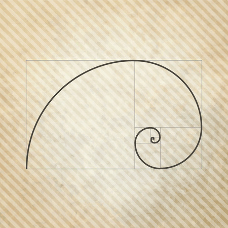 harmony nature: Golden ratio, proportion