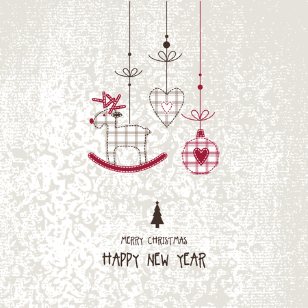 copy: New years card with copy space