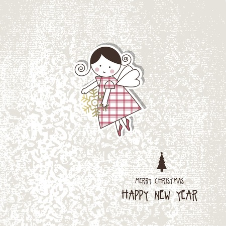 moos: New years card with copy space