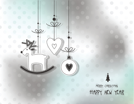 new year's card: New years card with copy space