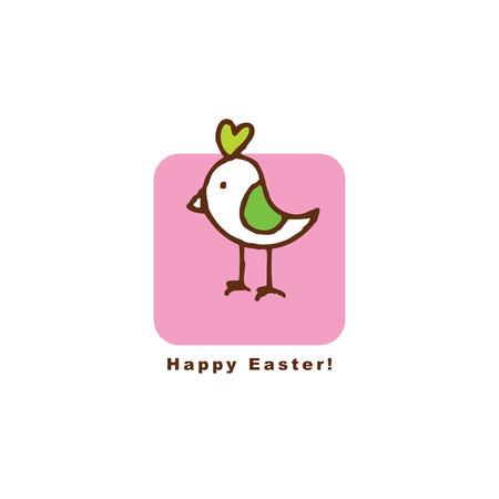 copy: Easter card with copy space