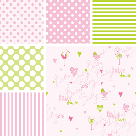 seamless patterns: Seamless patterns Illustration
