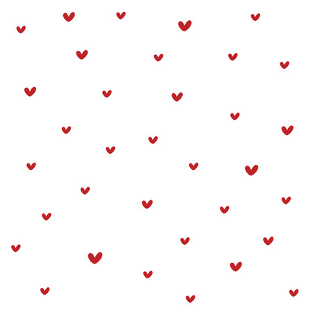 Seamless heart pattern. Texture for paper wrapping, web backgrounds, fabric, decorration, scrapbooks, gift paper, greeting cards...