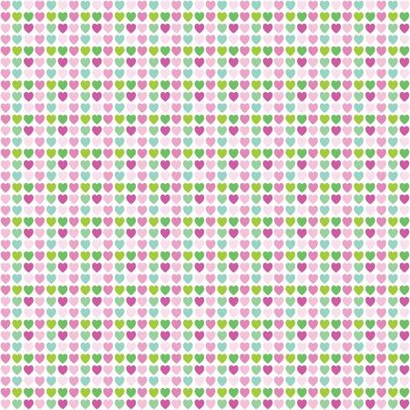 heart seamless pattern: Heart seamless pattern - Design element