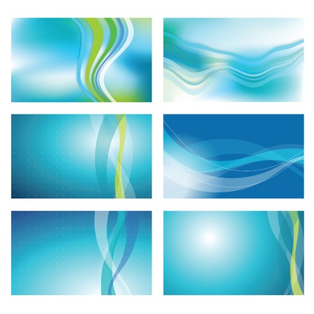blue backgrounds: Modern blue backgrounds - graphic elements