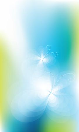 graphic: Modern blue background - graphic element Illustration