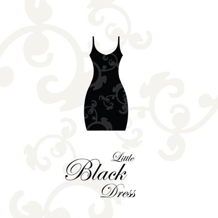 black dress: Little Black Dress - design element