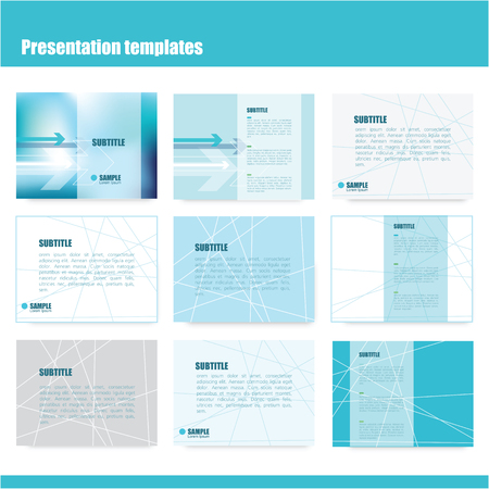 power point: Business presentation slide templates - power point template design