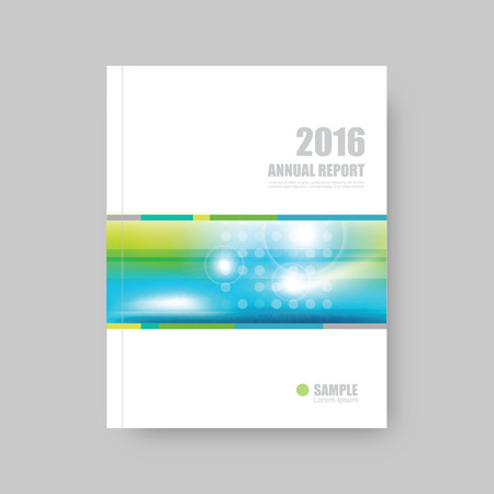 annual report: Annual report cover, brochure template