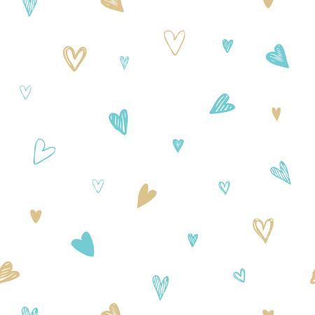 the unique: Set of unique hearts Illustration