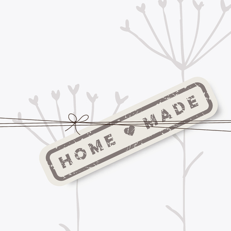 homemade style: Homemade design elements