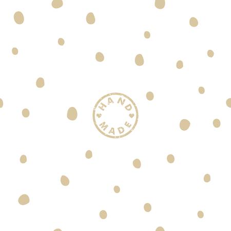 guaranty: Handmade design background Illustration