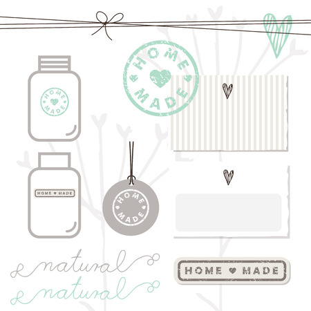 guaranty: Homemade design elements