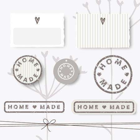 homemade: Homemade design elements