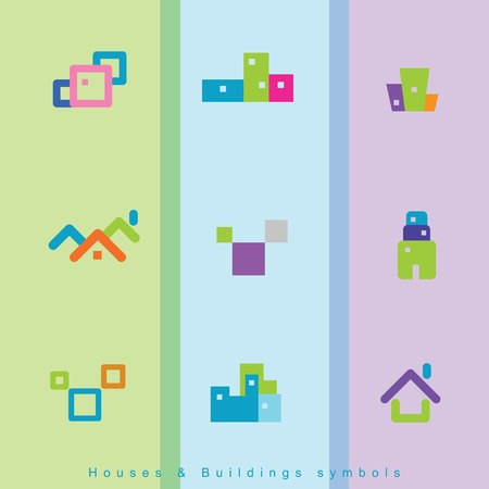house building: House building icons